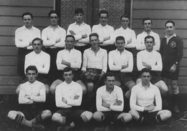 david cooke rugby. 1914 Rugby Union 2nd XV